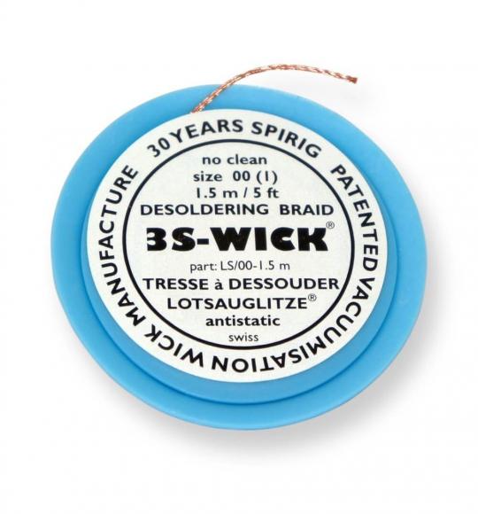 Оплётка для удаления припоя 3S-Wick