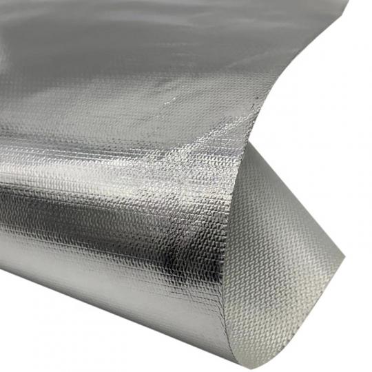 Текстурированные стекловолоконные ткани ламинированные алюминиевой фольгой