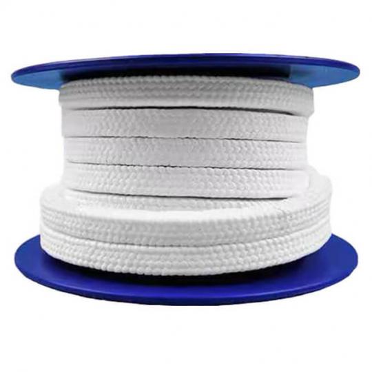 Сальниковый уплотнитель из PTFE волокна с лубрикантом