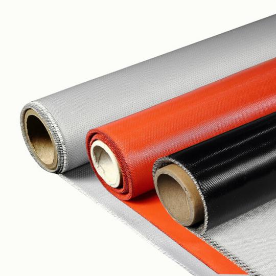 Стеклопластиковые ткани с силиконовым покрытием