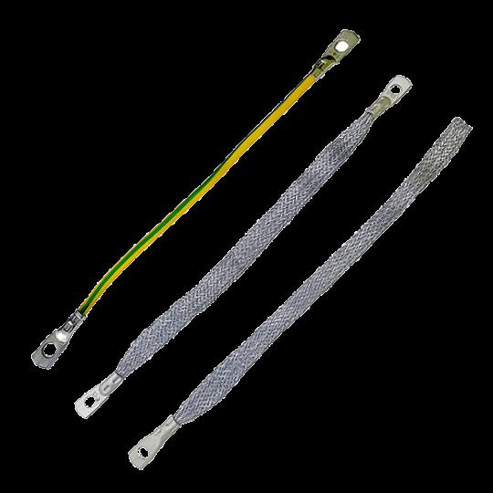 Перемычки и шлейфы заземления для кабельных муфт