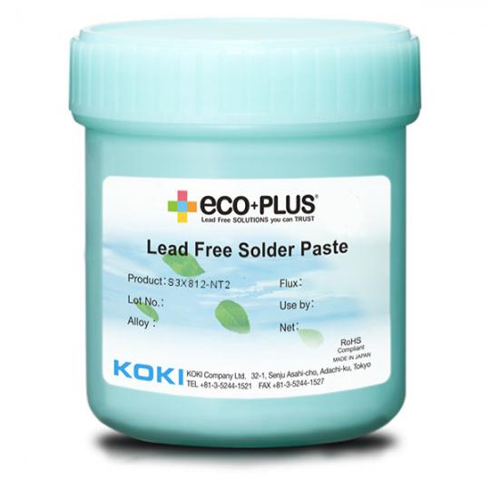 KOKI S3X70(811, 812) NT2. Серия паяльных паст для PoP Process