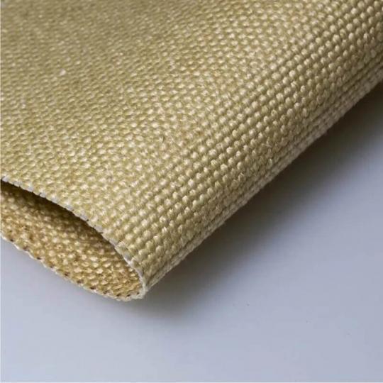 Стеклоармированные ткани с вермикулитовым покрытием