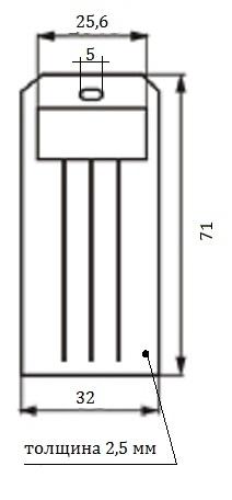 Бирки маркировочные схема 2